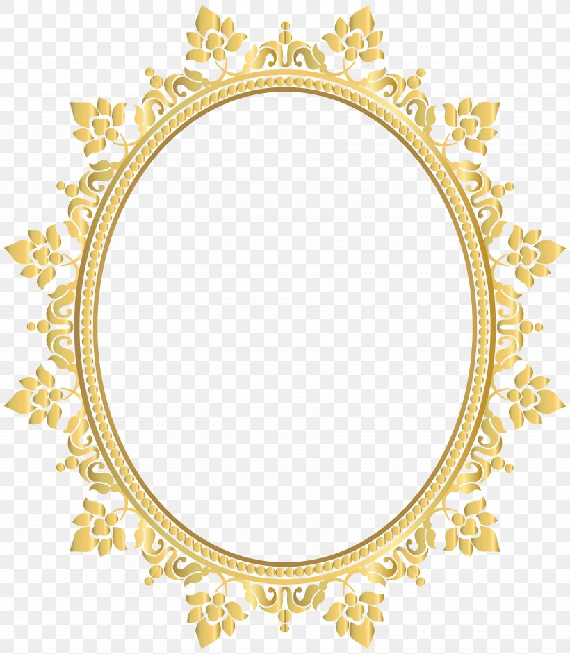 Borders And Frames Picture Frames Oval Clip Art, PNG.