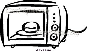 microwave oven Clip Art.
