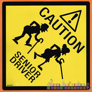 Details about OVER THE HILL CAUTION SENIOR DRIVING MAGNET ~ Birthday Party  Supplies Gag Gift.