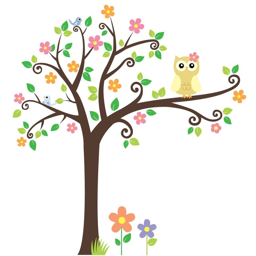 Owl in tree clipart 7 » Clipart Station.