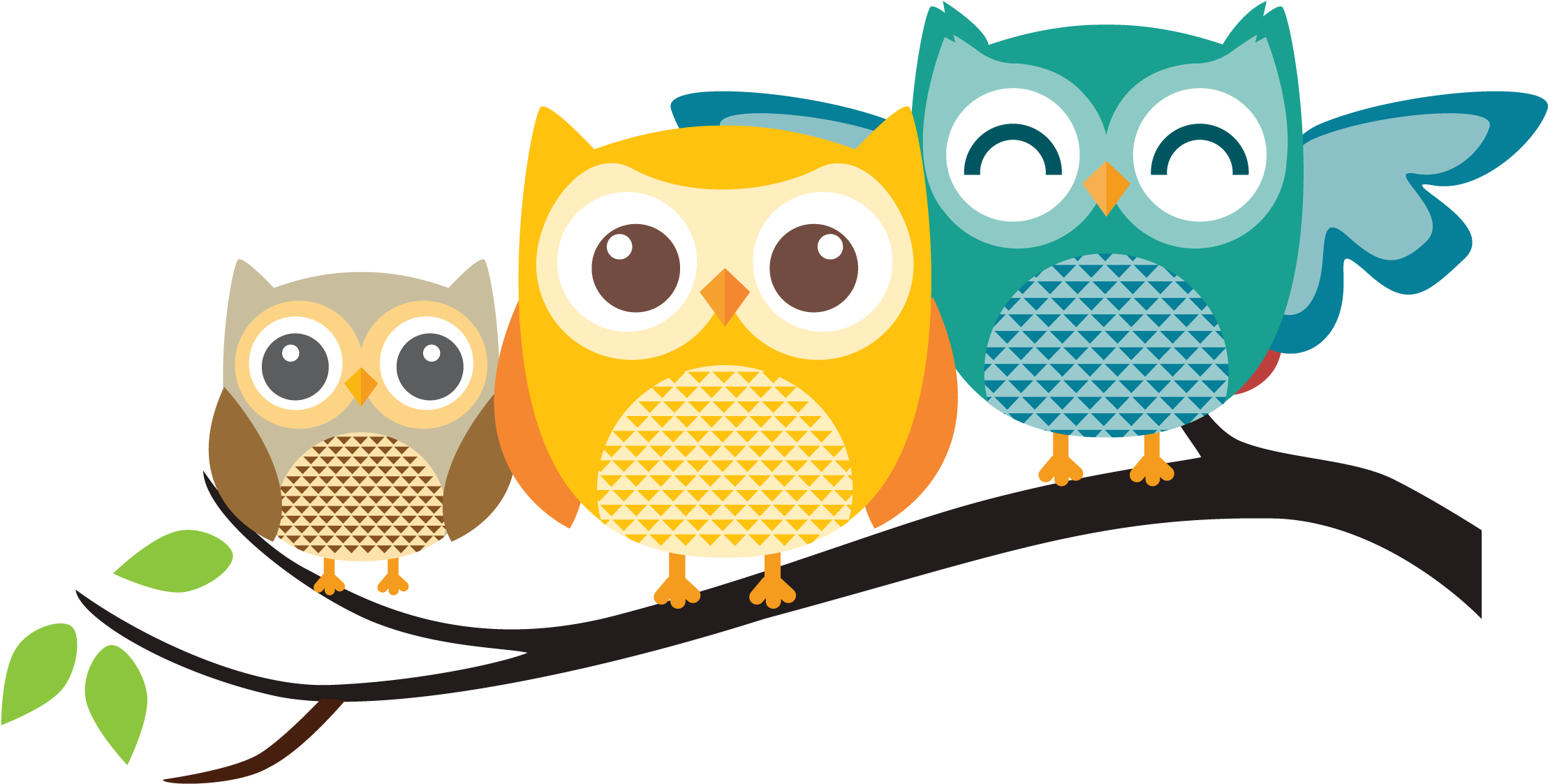 Download HD Pastel Clipart Owls.