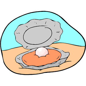 Clipart Oyster Pearl.
