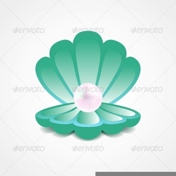 Oyster Shell Clipart.