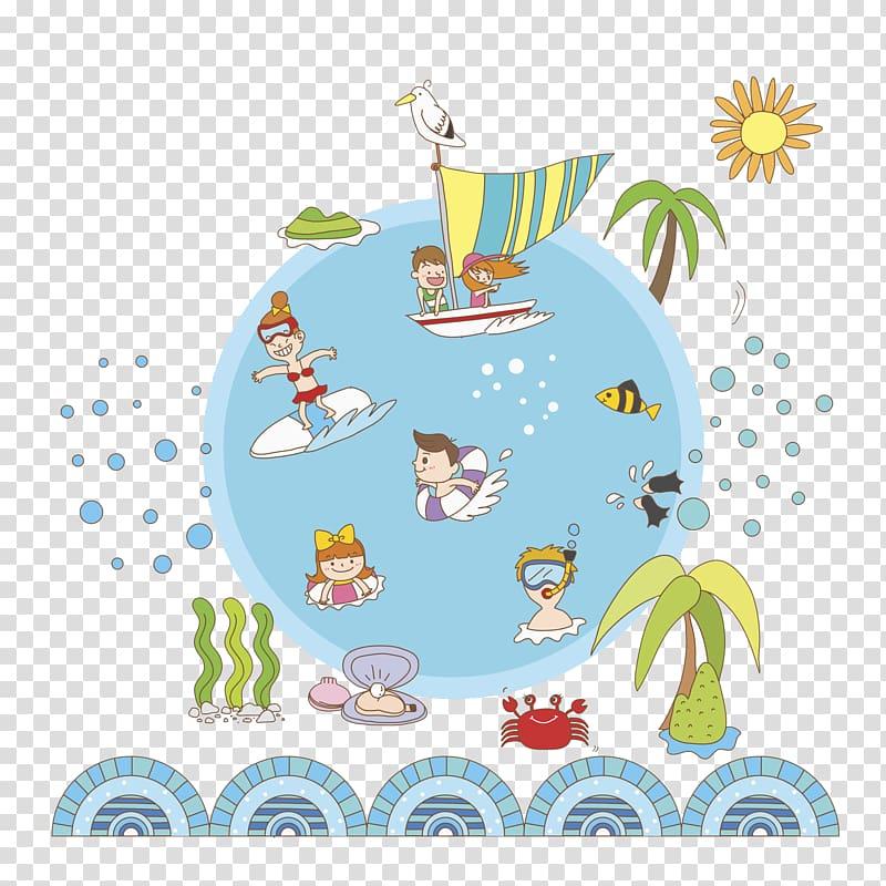 Illustration , Typer Shark Deluxe transparent background PNG.