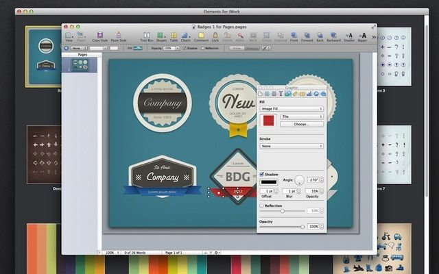 Jumsoft\'s New Clipart Package For iWork And iBooks Author Is.