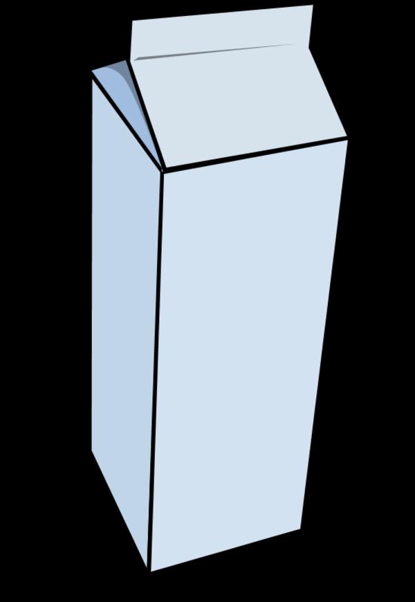 milk packet.
