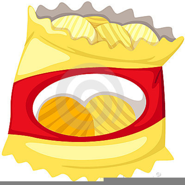 Crisp Packet Clipart.