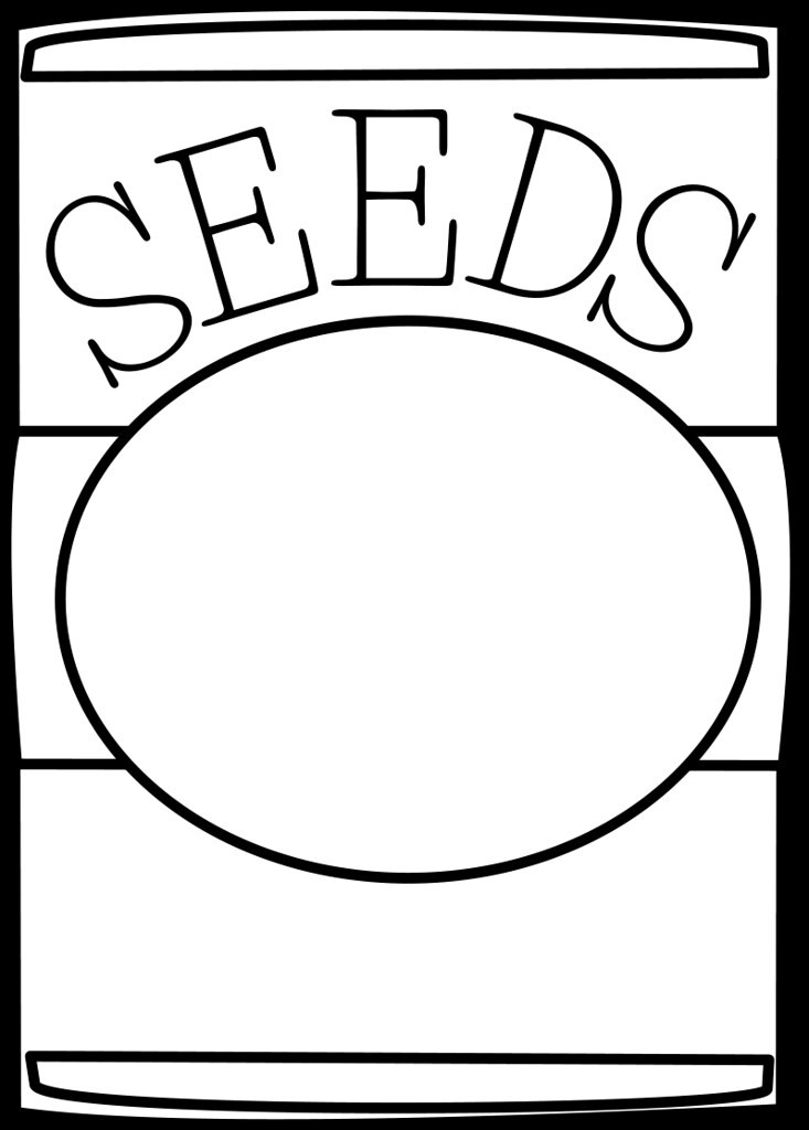The World\'s Best Photos of clipart and seed.