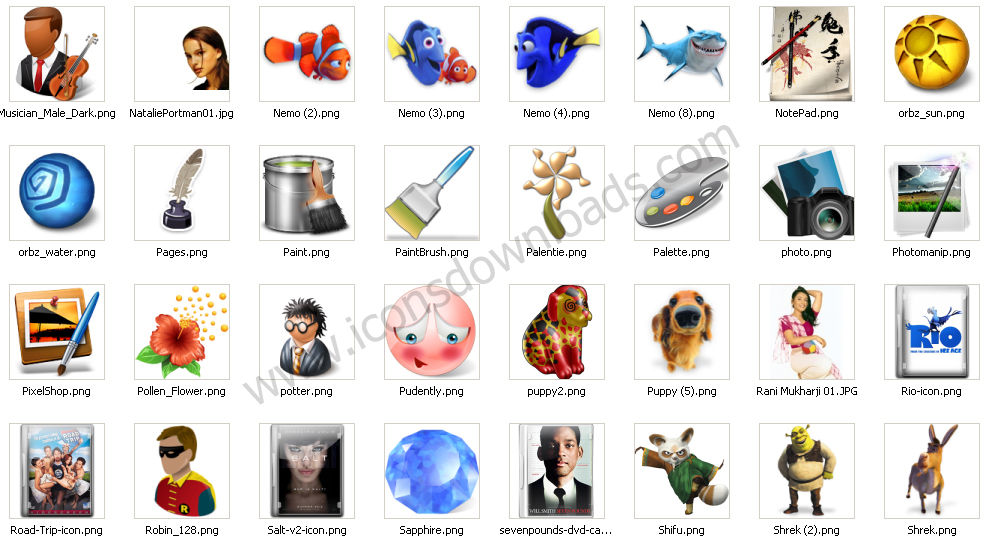 Windows 98 Clipart Pack.