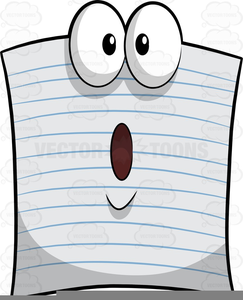 Clipart Of Pad Paper.
