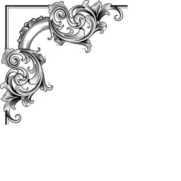 Free Page Border Corner Design, Download Free Clip Art, Free.