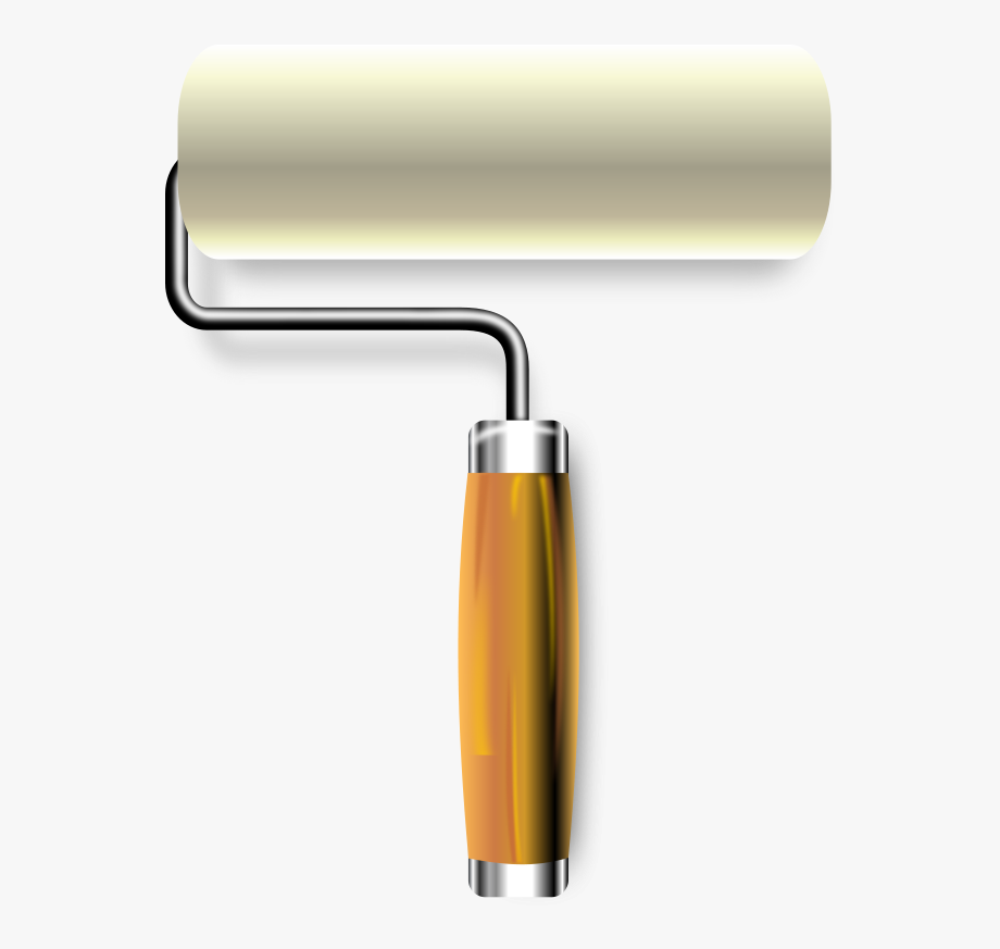 Paint Roller Clipart , Transparent Cartoon, Free Cliparts.