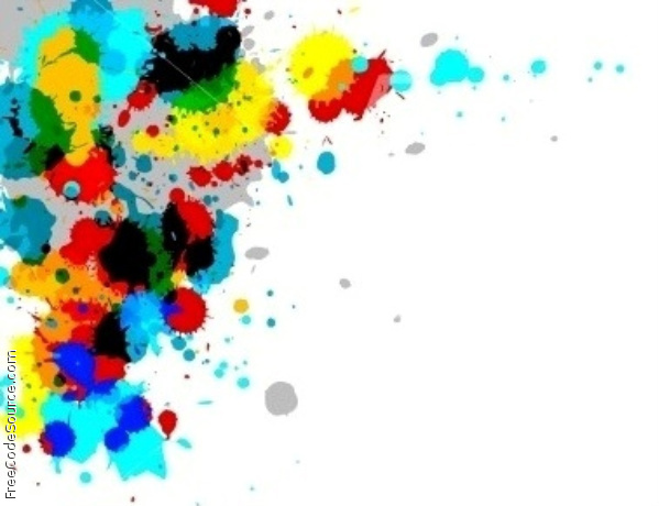Paintball Splatter Backgrounds.