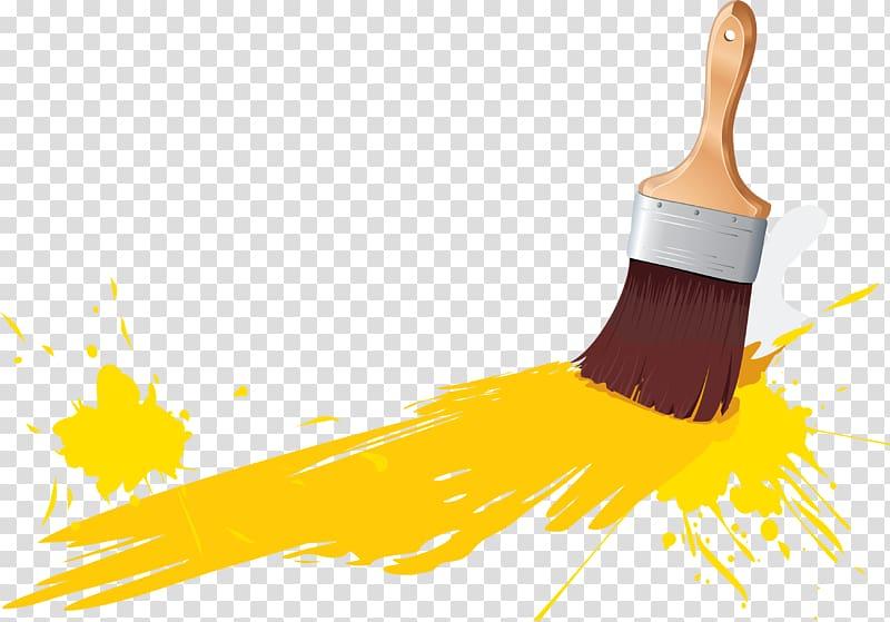 Paintbrush , paint transparent background PNG clipart.