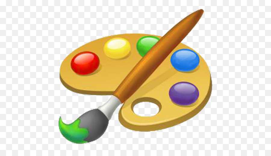 Paintbrush and palette clipart 6 » Clipart Station.