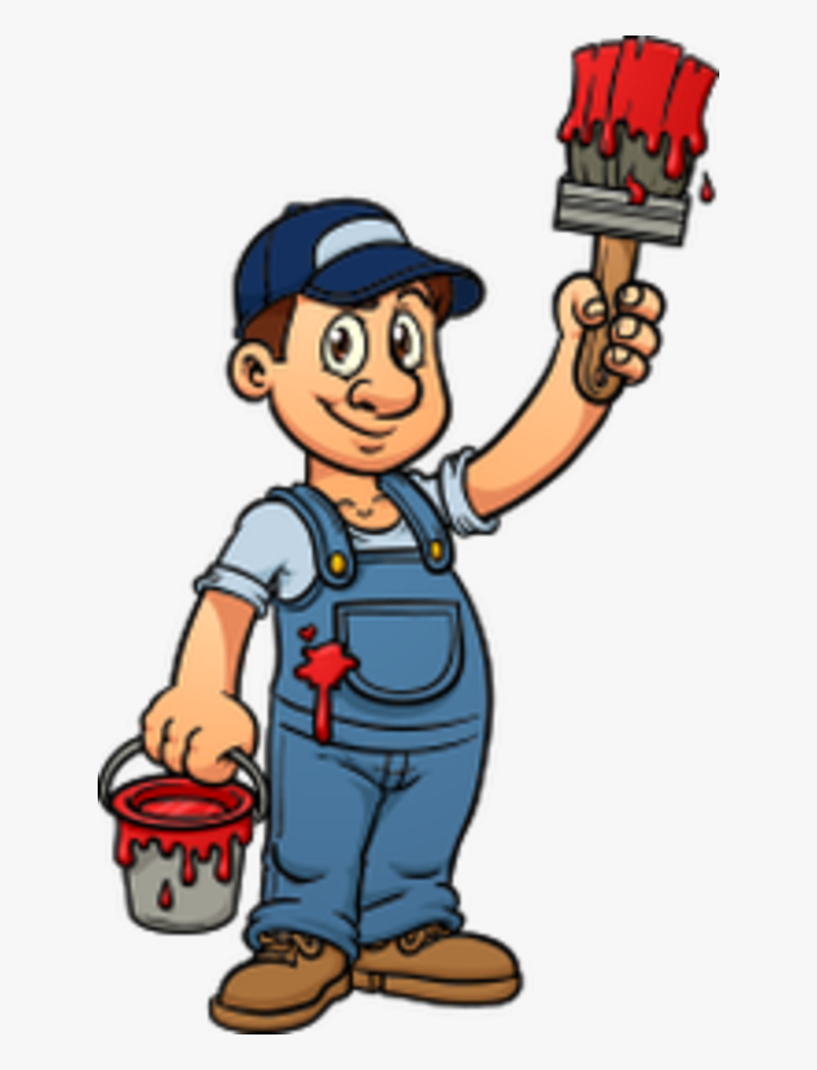 House painter download free clip art with a transparent.