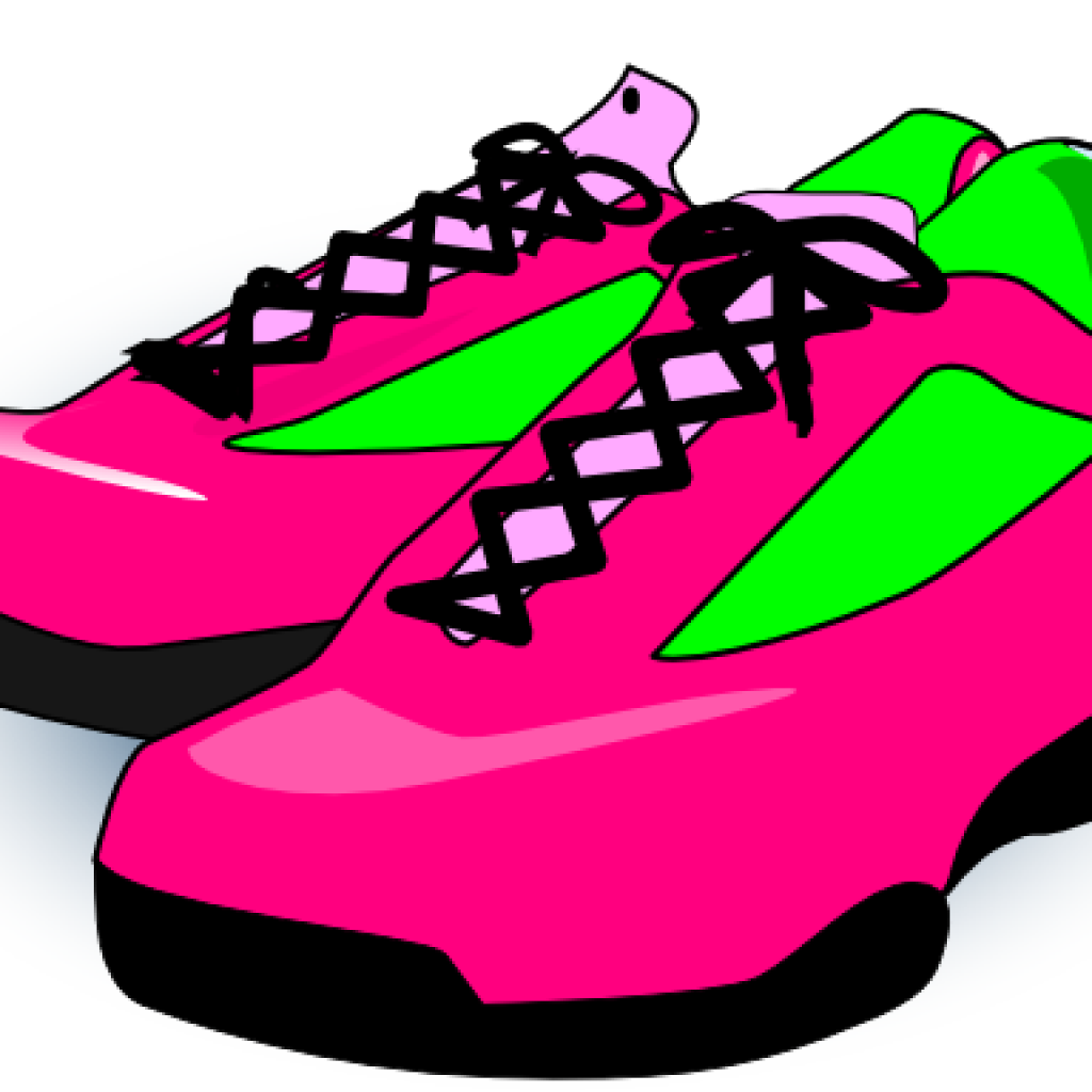 Pair Of Running Shoes Clipart Bxlqtgk.