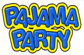Free Pajama Party Clipart.