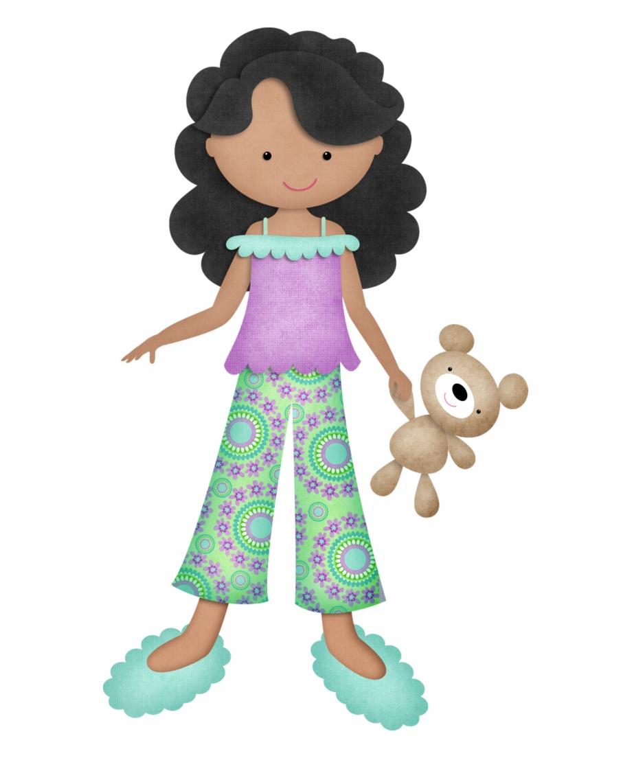 Cute Pajama Cliparts.