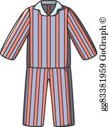 Pajamas Clip Art.