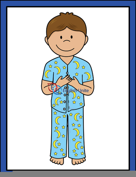 Collection of 14 free Putting on clipart pajamas bill clipart dollar.
