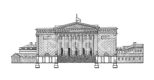 Palais Bourbon, Paris, France.