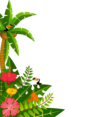 clipart palm tree borders clipground rainforest clip art free rainforest clip art scene
