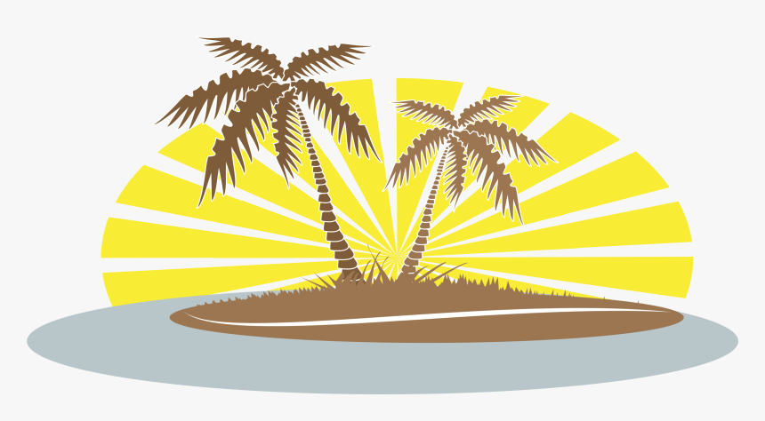 Clipart Summer Palm Tree.