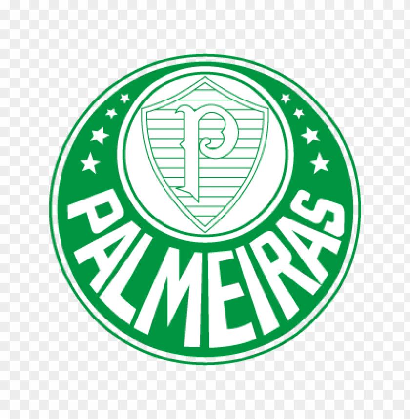 palmeiras club vector logo free.