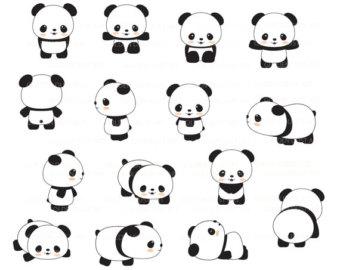 Cute panda pandas clip art panda clipart cute.