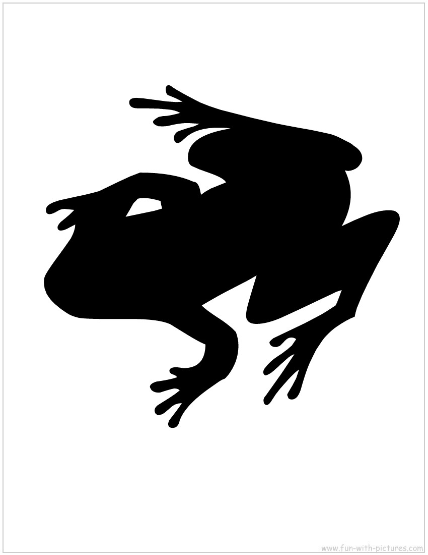 Frog Silhouette.