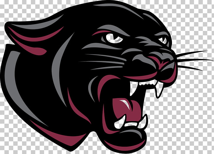 Permian High School Panther Logo Mascot , Cat PNG clipart.