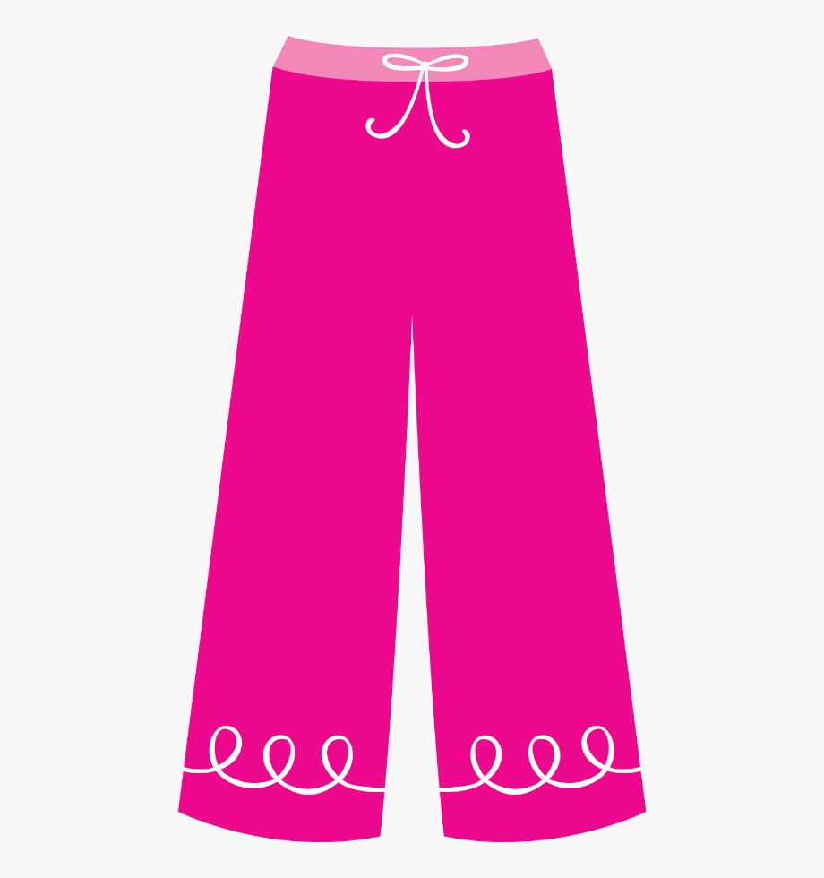 Paper Dolls, Silhouettes, Pajamas, Pajama Pants, Clip.