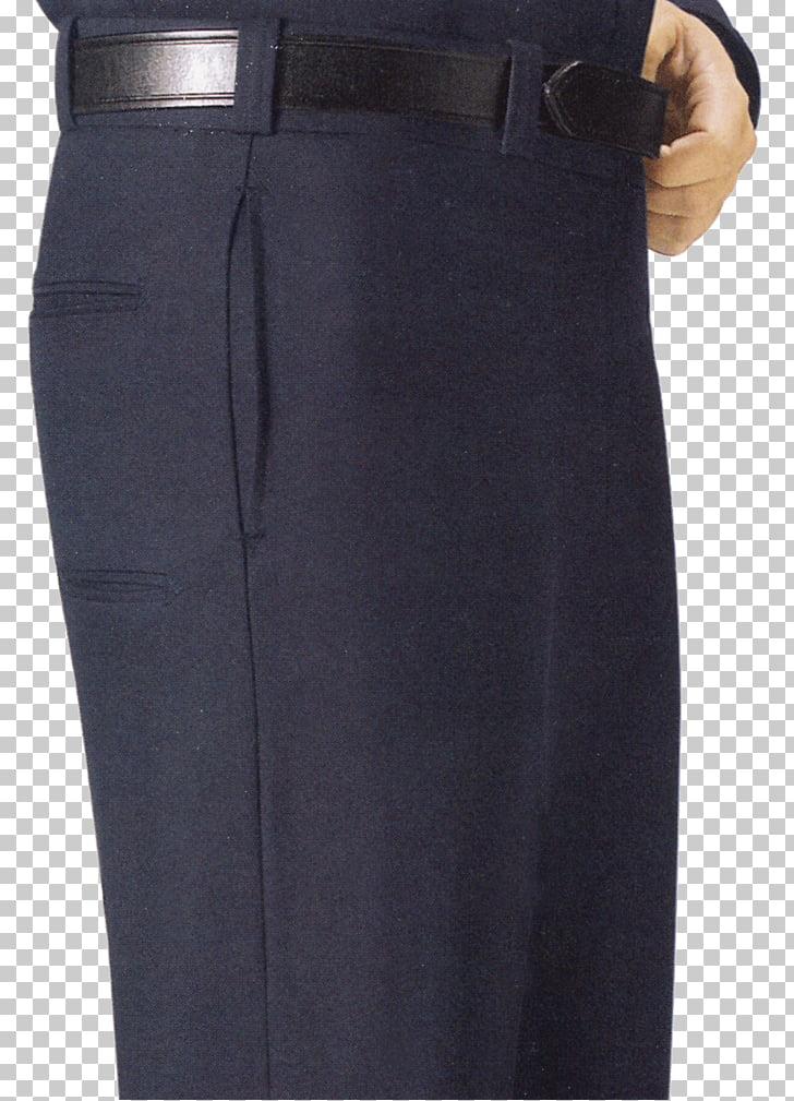 Navy blue Pants Jeans, men\'s trousers PNG clipart.