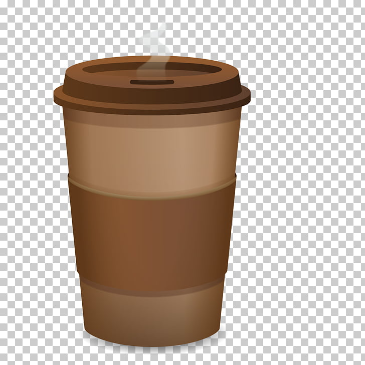 Coffee cup Cafe Paper, Disposable coffee cup PNG clipart.