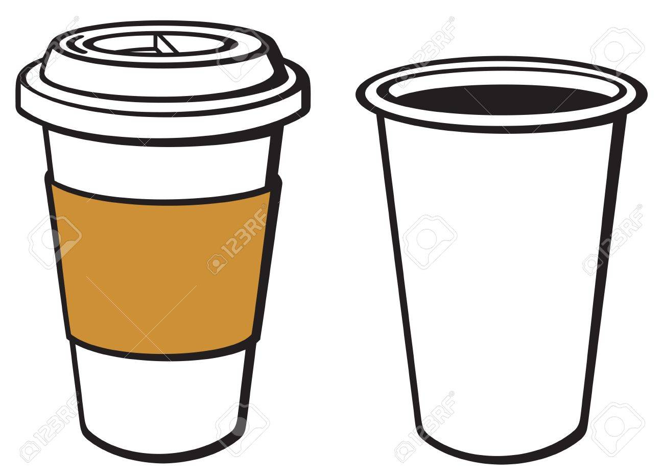 Takeaway Coffee Cup Clipart.