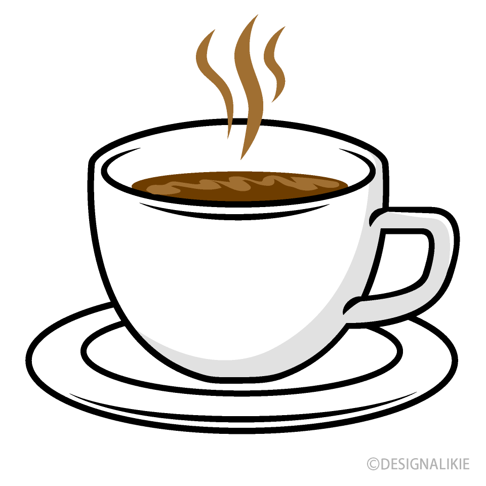 Free Hot Coffee Cup Clipart Image|Illustoon.
