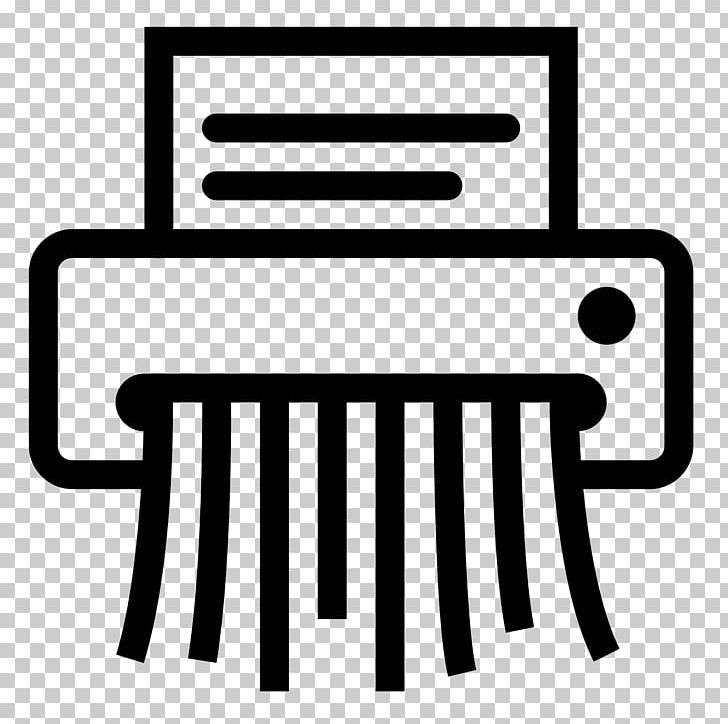 Computer Icons Paper Shredder PNG, Clipart, Area, Black And.