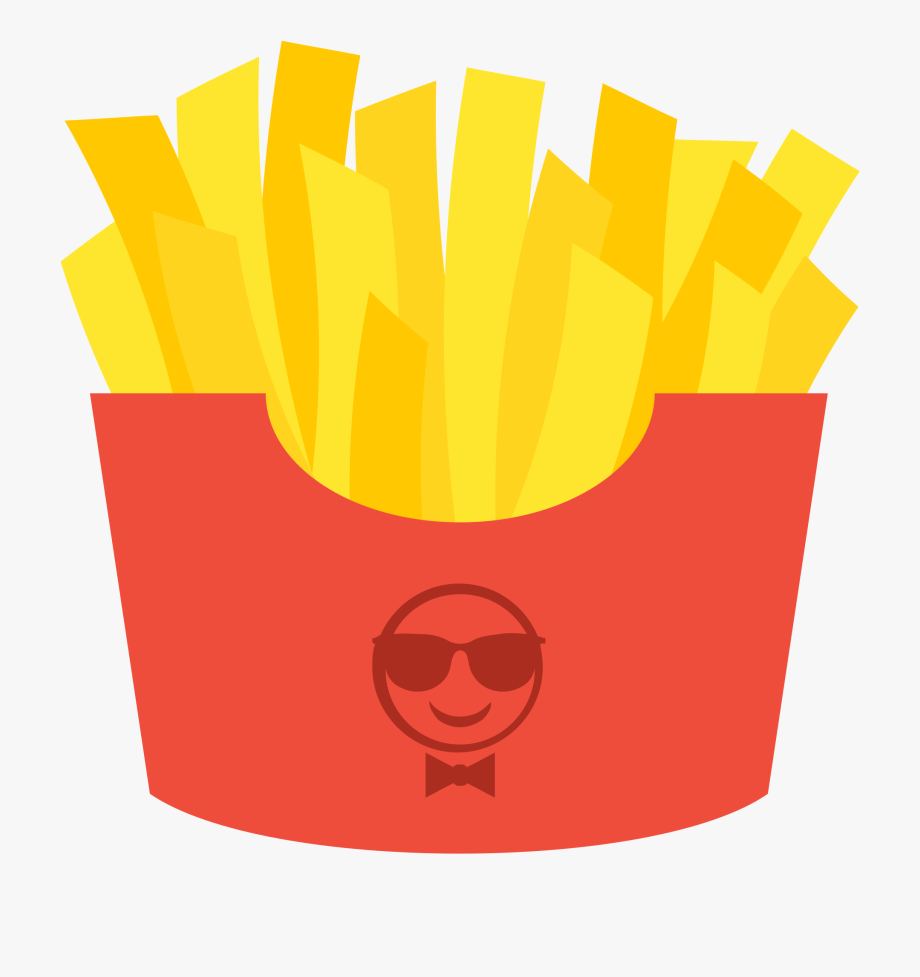 Fries Clipart Svg.