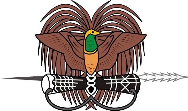 Coat Of Arms Of Papua New Guinea clip art Free vector in.