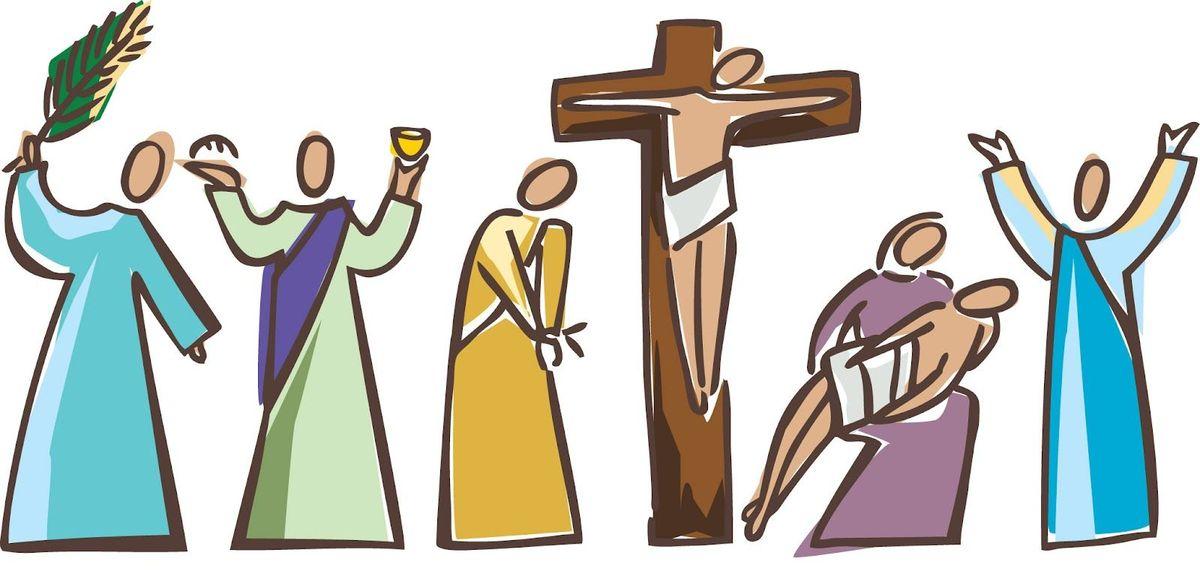 Préfaces de la Passion et de Pâques.