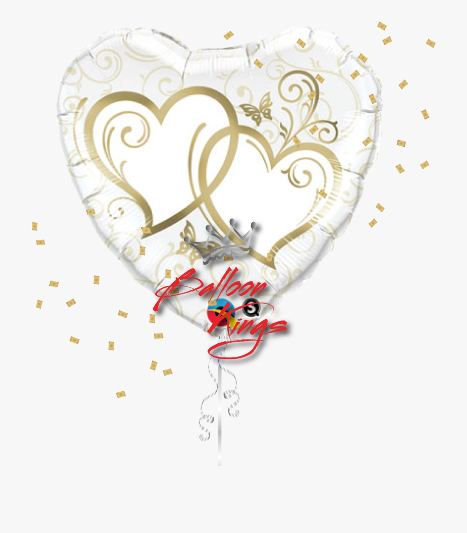 Gold Heart Png.
