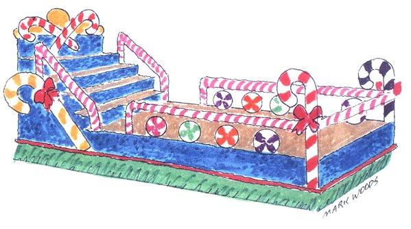21+ Christmas Parade Float Clip Art.