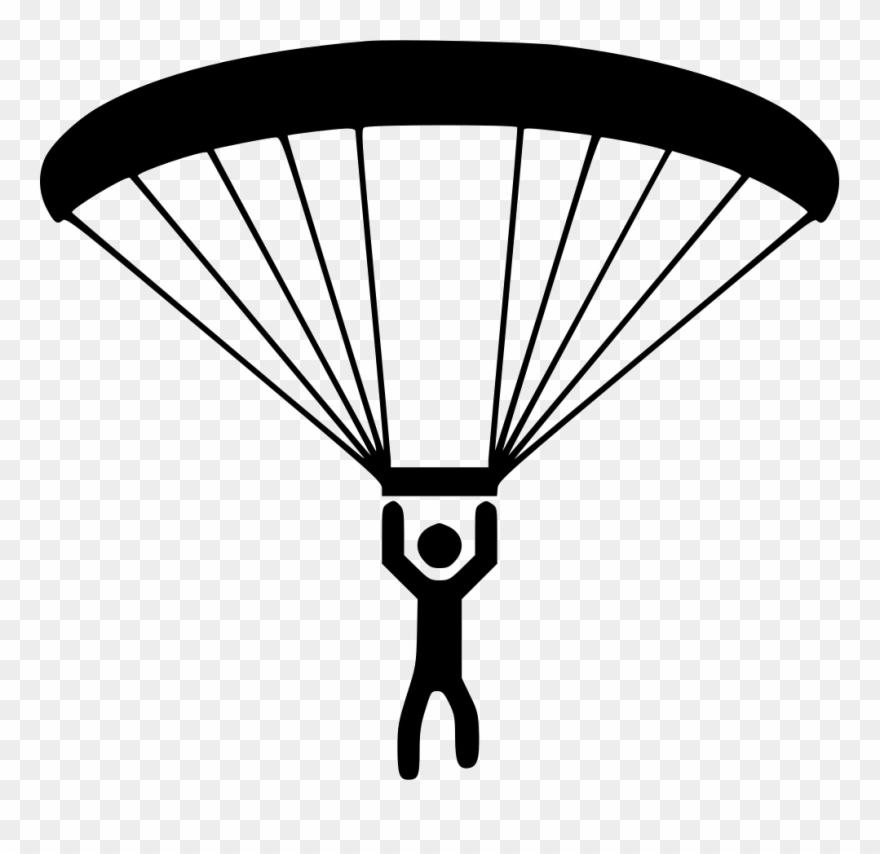 Parachute Clipart Paragliding.
