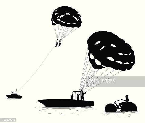 53 Paragliding Stock Illustrations, Clip art, Cartoons & Icons.