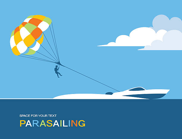 Best Parasailing Illustrations, Royalty.