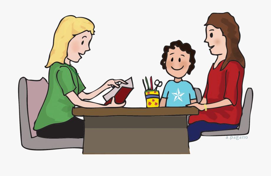 Conference Clipart Parent Teacher.