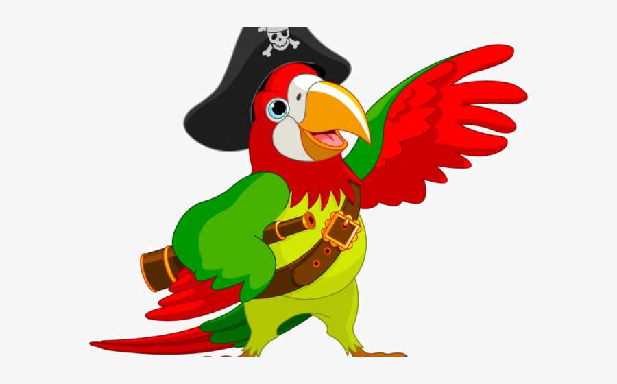 Macaw Clipart Pirate Parrot.