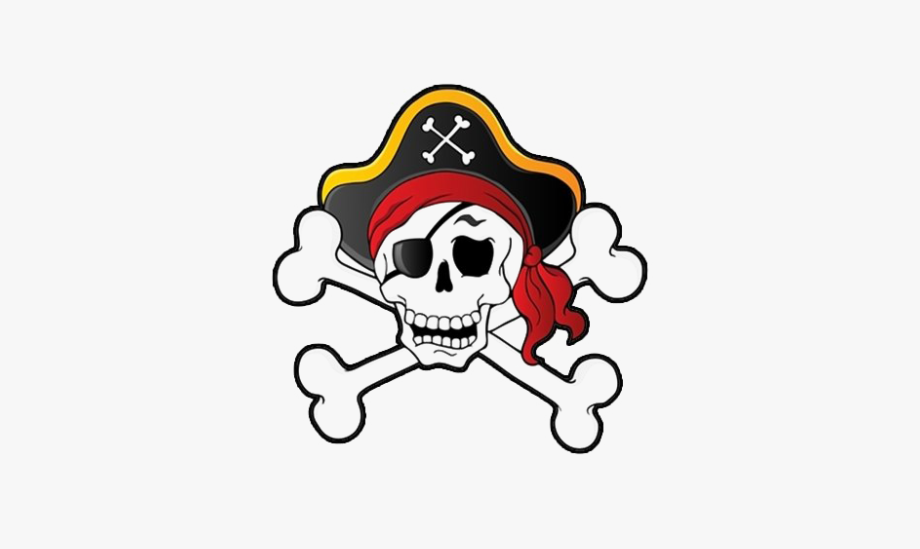 Pirate Skull Transparent Png.