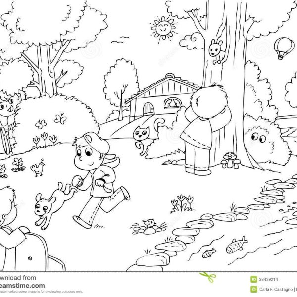 Park black and white clipart 5 » Clipart Station.